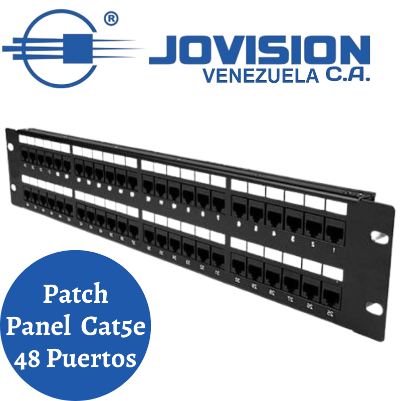 Patch Panel Cat5e 48 Puertos