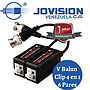 Video Balun AHD 4 en 1, CVI TVI, AHD, Analogo X 6 Pares